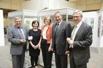 Von links: Herr Bürgermeister Koch aus Eibelstadt, Dr. Petra Hubmann Vorstandsvorsitzende des Beringers Lügensteine e.V., Frau Prof. Dr. Alix Cooper von der New York State University, Bundestagsabgeordneter(MdB) Paul Lehrieder (CSU), Vorstandsmitglied d