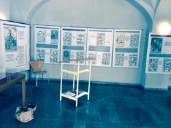 Ausstellung in der Kulturhalle Gemünden