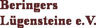 Logo: Beringers Lügensteine e.V.